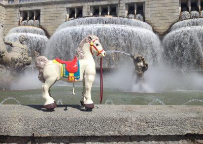 cavalo pintado restauro